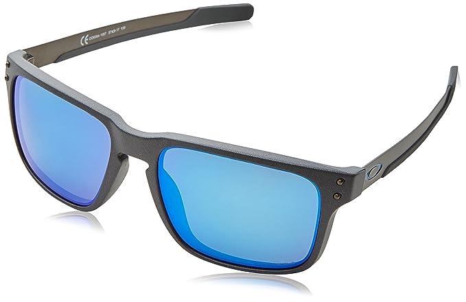 Oakley Holbrook Mix 938410, Gafas de Sol para Hombre, Gris, 57: Amazon.es: Ropa y accesorios