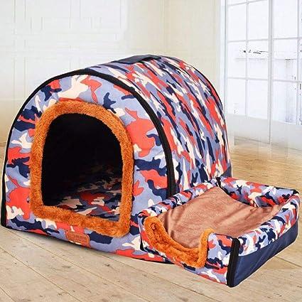 ZHENGDY Cama De Mascotas,Desmontable Cama para Perro Pequeño Y Gatos Mascota Antideslizante Plegable Suave