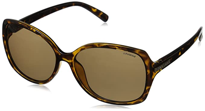 48f5ffc92b Polaroid Sunglasses Women s PLD5011S Polarized Rectangular Sunglasses