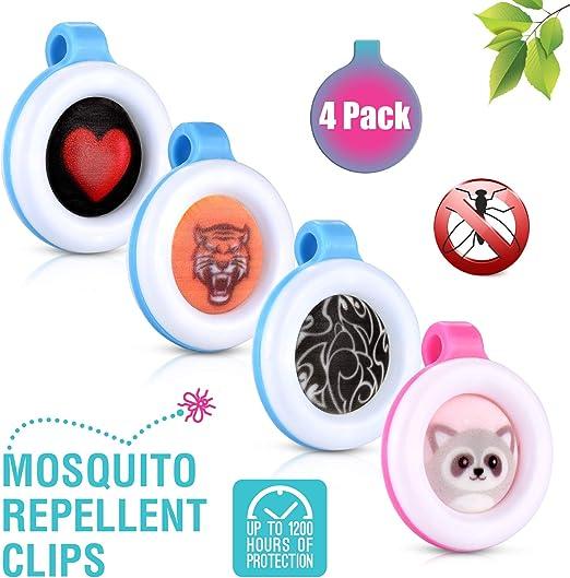 Amazon Com Premium Clip On Mosquito Bug Insect Repellent 4