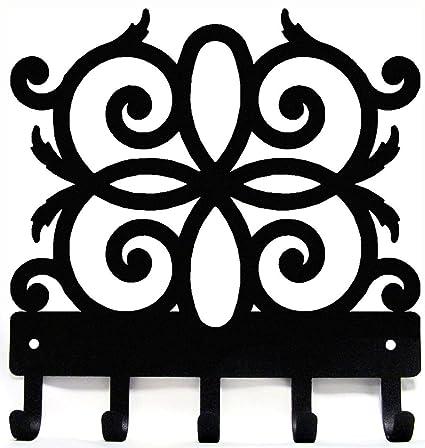 Amazon Com Decorative Scroll Ko4 Metal Key Rack Hanger