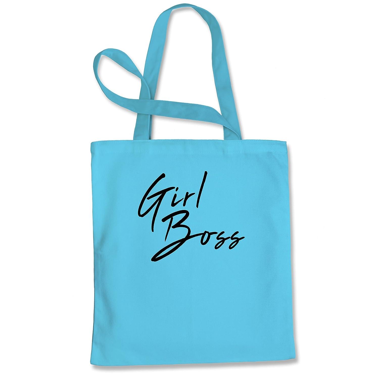 Tote Bag Girl Boss Natural Shopping Bag
