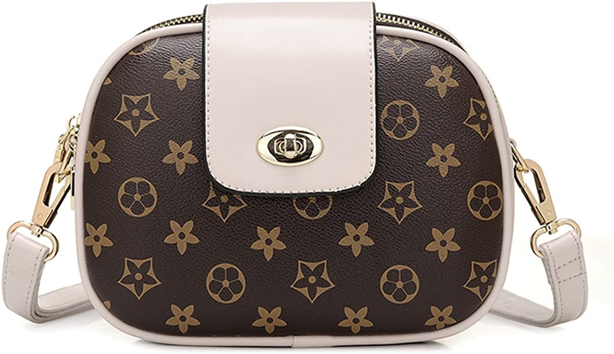 HFmorning Women Shoulder bag Purse Retro Multilayer Packet Small Round Messenger bag Casual Diagonal Bag