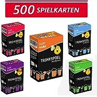 Glop 500 Spielkarten - Trinkspiel - Partyspiel