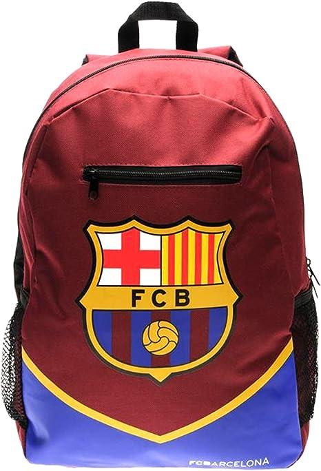Mochila del F.C. Barcelona, de la liga española. Tiene cierre de ...