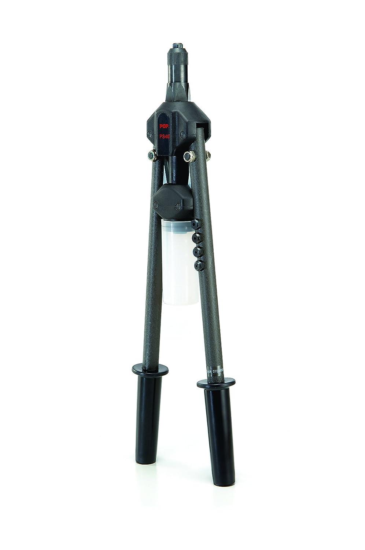 Pop 17493 PS40 remachadora de herramienta profesional (con palanca, color gris Stanley Engineered Fastening