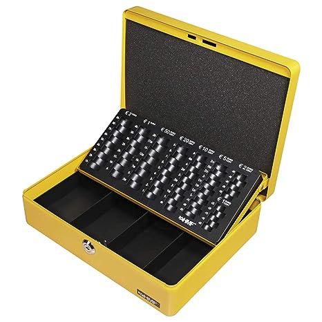 8838ecee16 HMF 10015-17 Cassetta Portavalori con Vassoio Porta Monete e Banconote 30 x  24 x