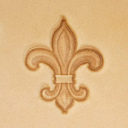 Image Unavailable Not Available For Color Springfield Leather Company Fleur De Lis 3D Stamp