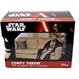 "Star Wars, Jedi Knight Adult Comfy Throw with Sleeves, 48"" x 71"""