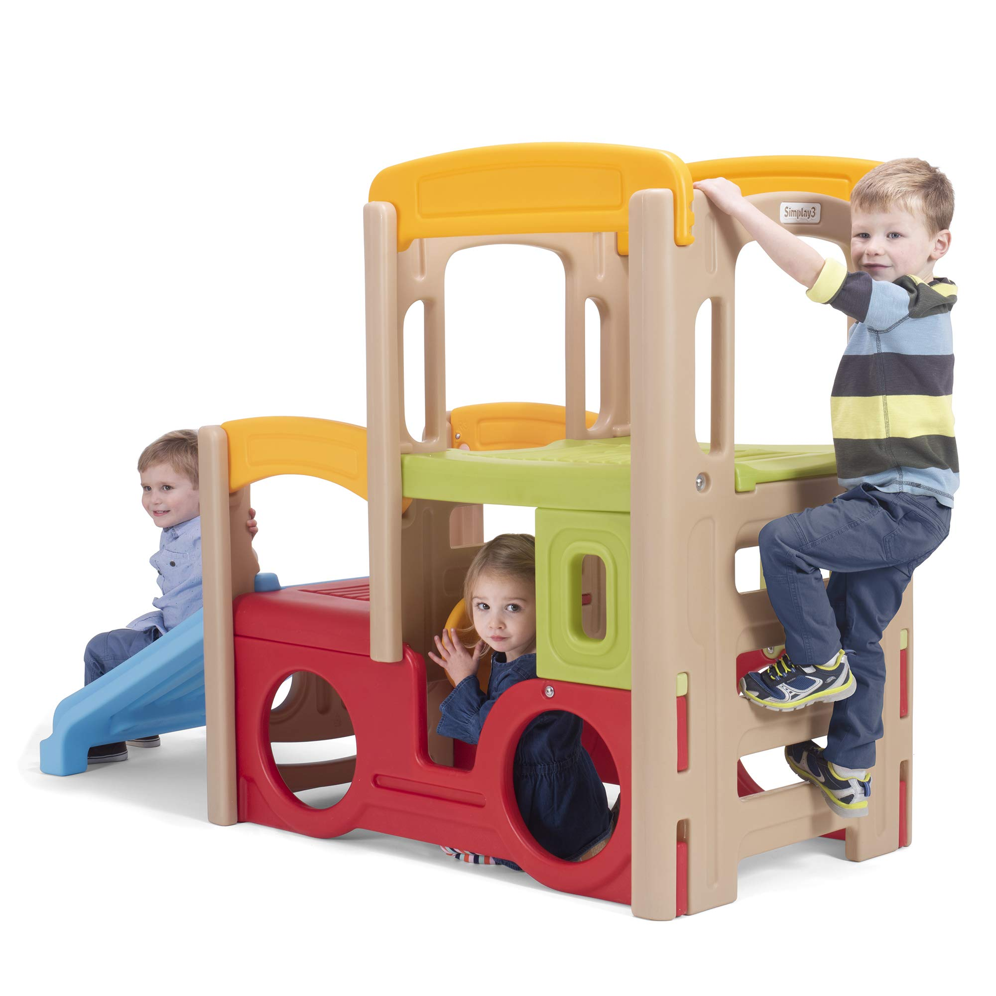 Simplay3 Young Explorers Adventure Climber - Indoor Outdoor Crawl Climb Drive Slide Playset for Children by Simplay3 (Image #4)