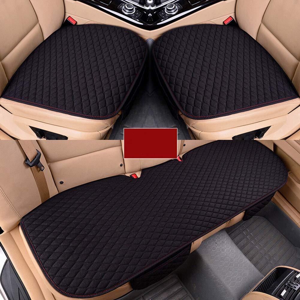 Copri Sedile Auto Cuscino della Copertura del Auto Beige//nero//caff/è Ideale per Bambini//Beb/è//Animali per Proteggere la tappezzeria in Pelle del Veicolo Coprisedile Auto