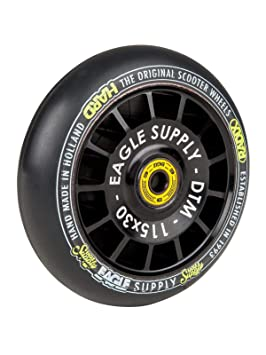 Eagle Supply Rueda para Scooter Individual Radix DTM Hollowtech 90A - 115Mm Negr (Default, Negro): Amazon.es: Deportes y aire libre