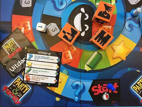 Party & Co. Family Niños y Adultos Juegos de Preguntas - Juego de Tablero (Juegos de Preguntas, Niños y Adultos, 25 min, 50 min, Niño/niña, 8 año(s)): Amazon.es: Juguetes y juegos