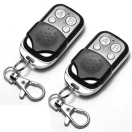 Amazon Com 2 X Universal Cloning Remote Control Key Fob For Car