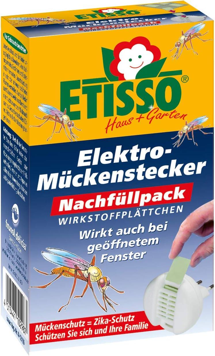 Frunol Etisso Elektro Mückenstecker Nachfüllpack 20 Plättchen Garten