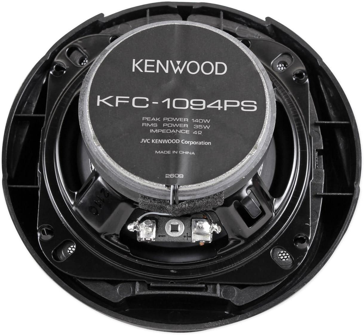 1 pair Kenwood KFC-1094PS 4-Inch 3-Way Speakers Electronics Car ...