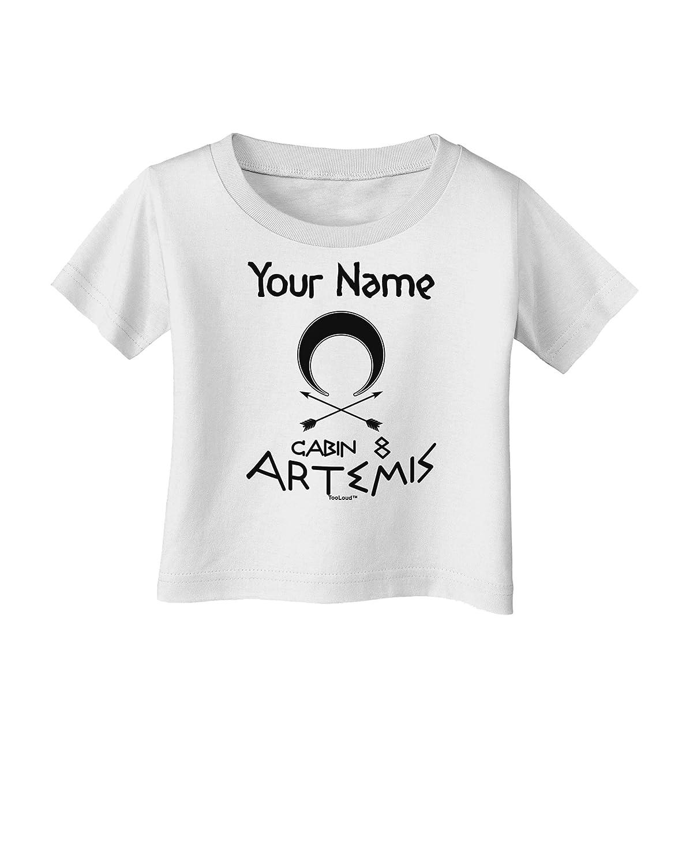 TooLoud Personalized Cabin 8 Artemis Infant T-Shirt