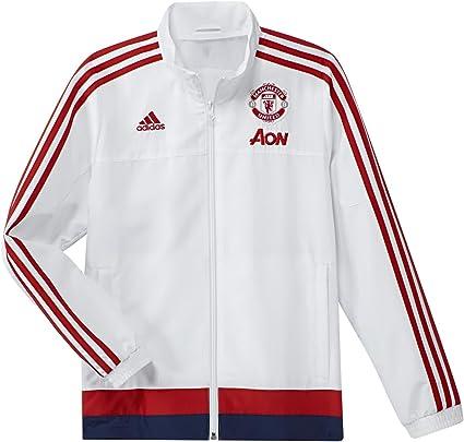 adidas 4055014971125 MUFC PRE Jacket Y Veste de Football du