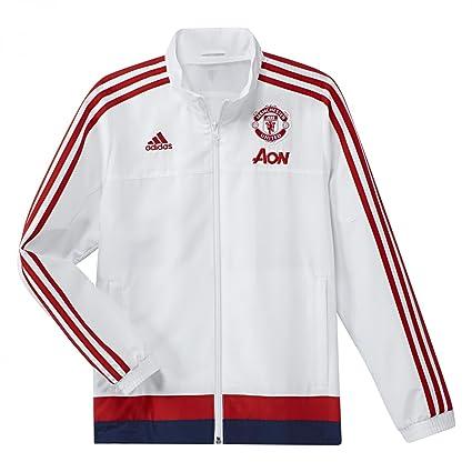 adidas Herren Fußballjacke MUFC PRE Jacket Y Fuβballjacke