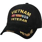 Rothco Deluxe Low Profile Vietnam Veteran Insignia Cap Military Vet