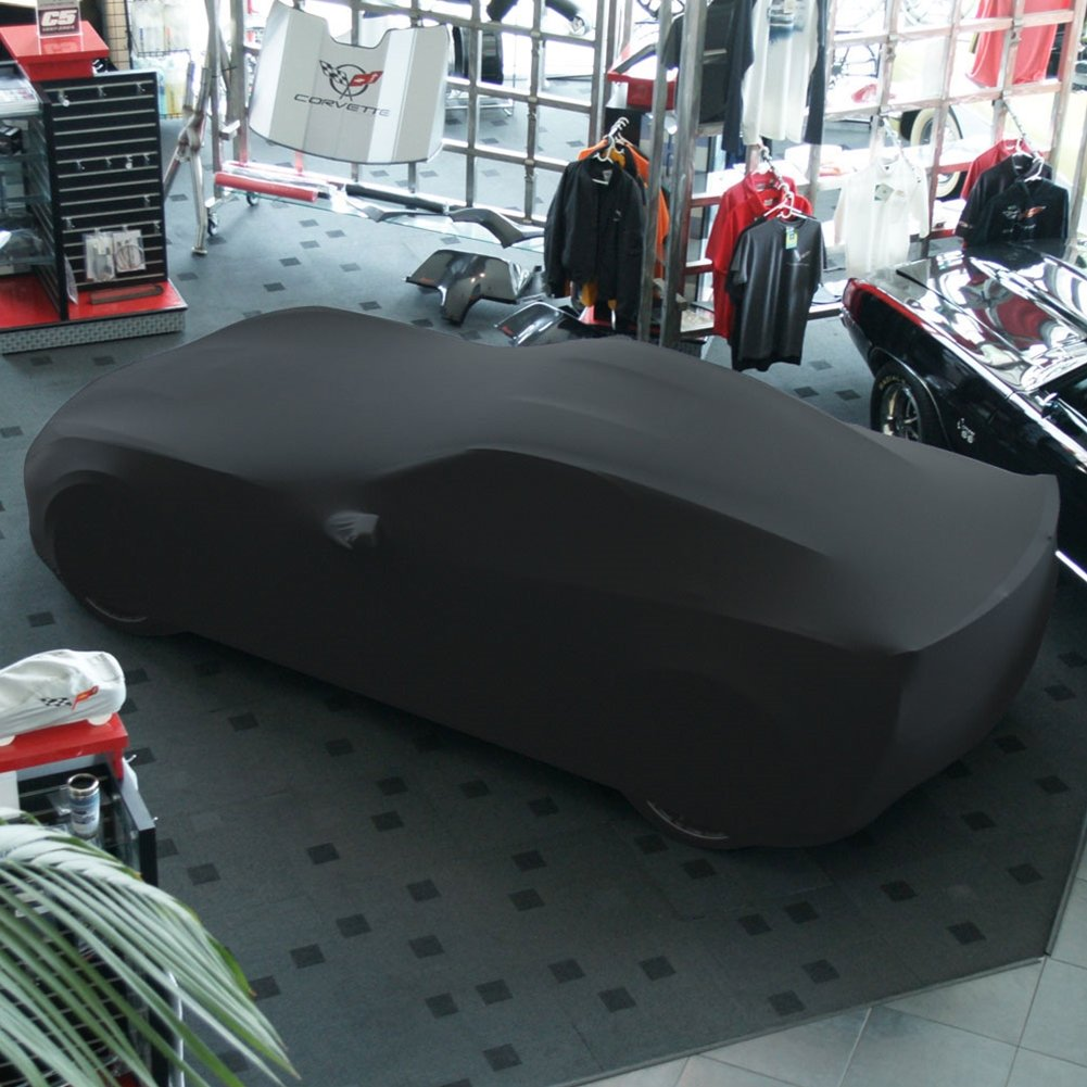 2014-2019 C7 Stingray Yellow Z06 Grand Sport Corvette Ultraguard Stretch Satin Indoor Car Cover Z51