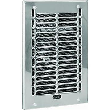 Cadet Bathroom Electric Wall Heater Assembly U0026 Chrome Grill 12u0026quot;L X ...