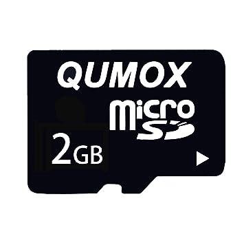 QUMOX 2 x 2GB MicroSD Tarjeta de Memoria Flash TF: Amazon.es ...