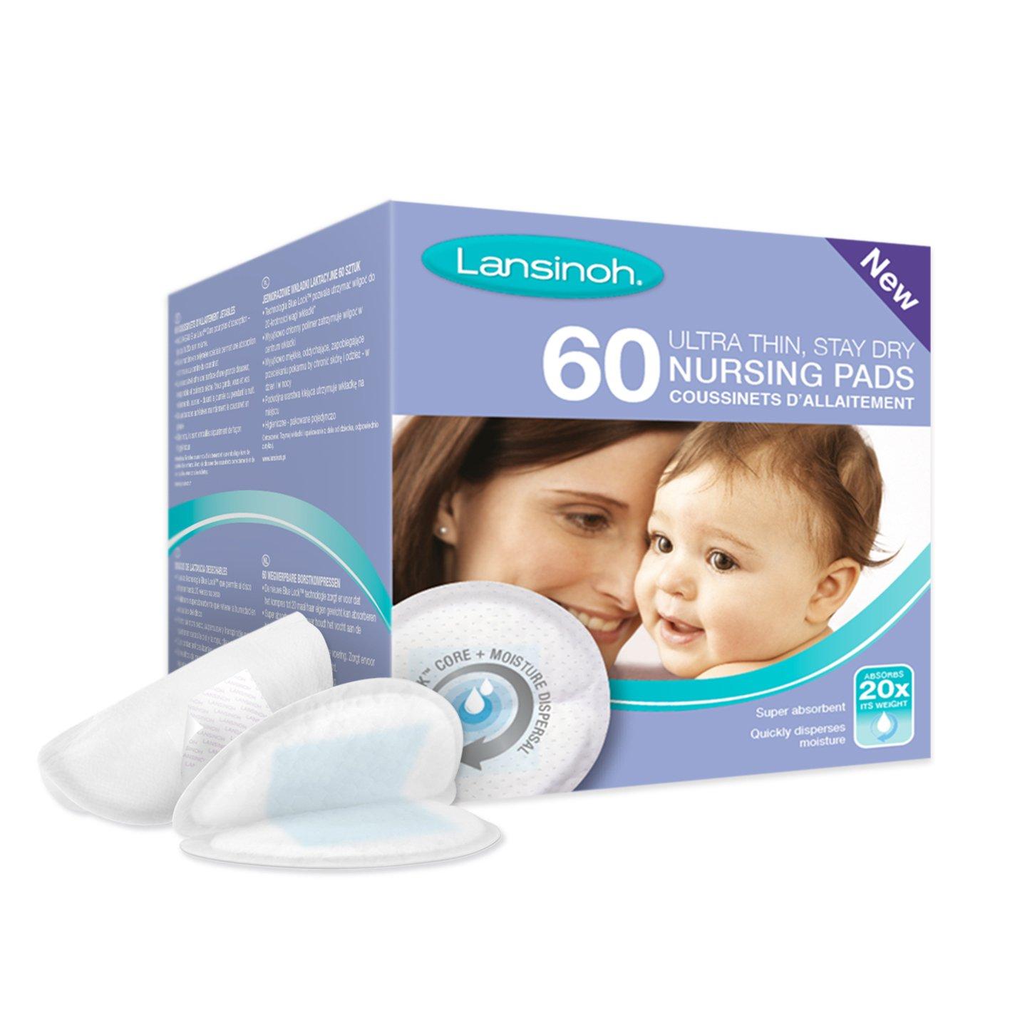 Lansinoh - Discos Absorbentes Desechables de Lactancia, 60 uds product image