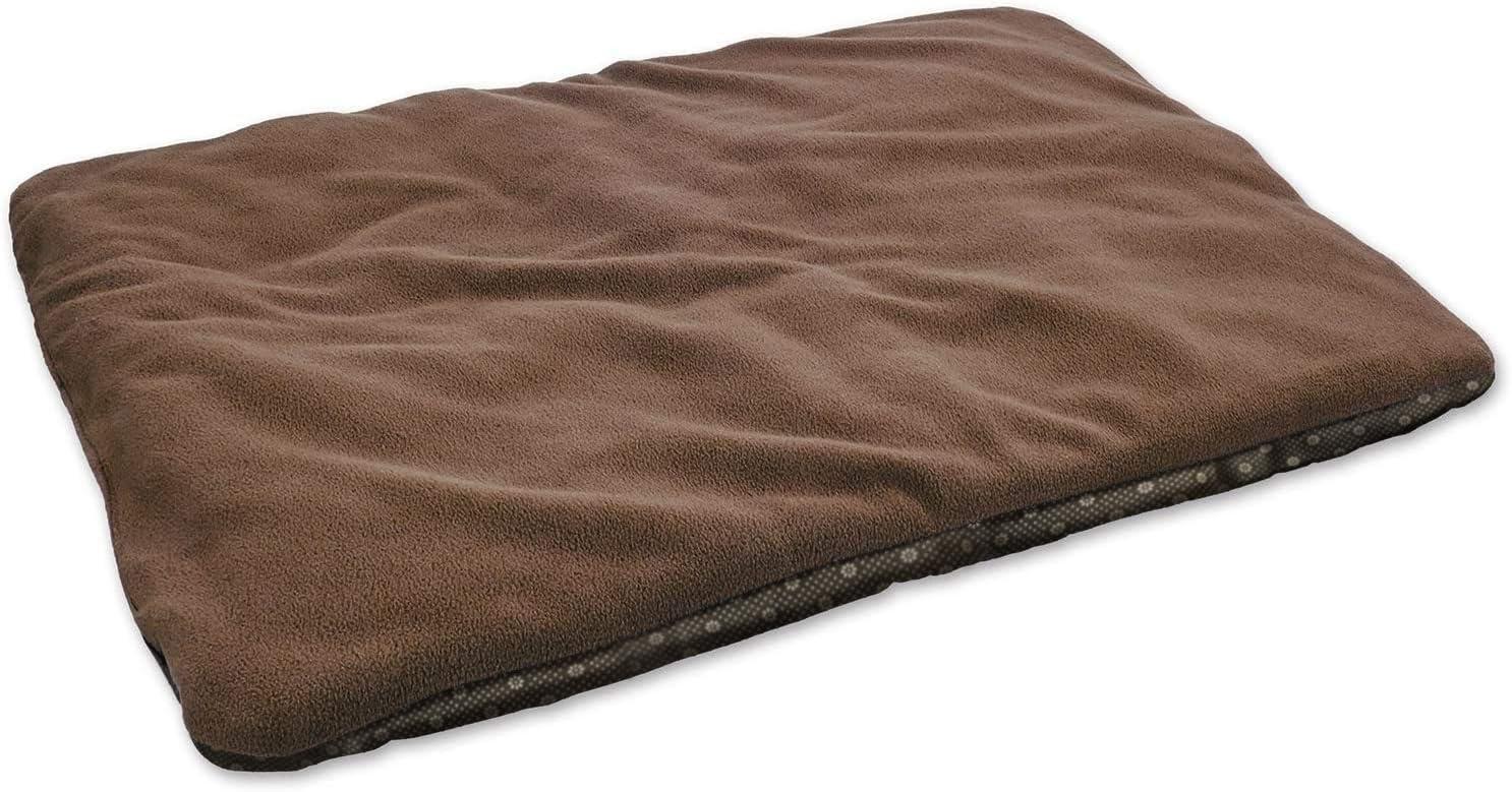 vitazoo Manta térmica para Perro, marrón, Acolchada y Aislante, Lado Inferior Antideslizante, 70 cm x 100 cm - Cama para Perro, Manta para Gato, Asiento para Mascotas