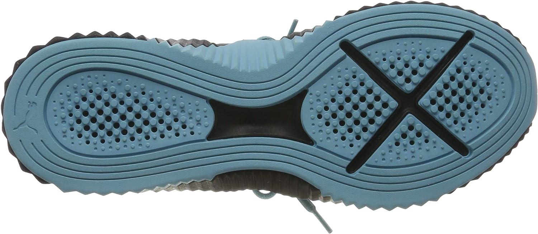 PUMA Defy Wn's', Scarpe Sportive Indoor Donna Nero Puma Black Milky Blue 2GZ7rp