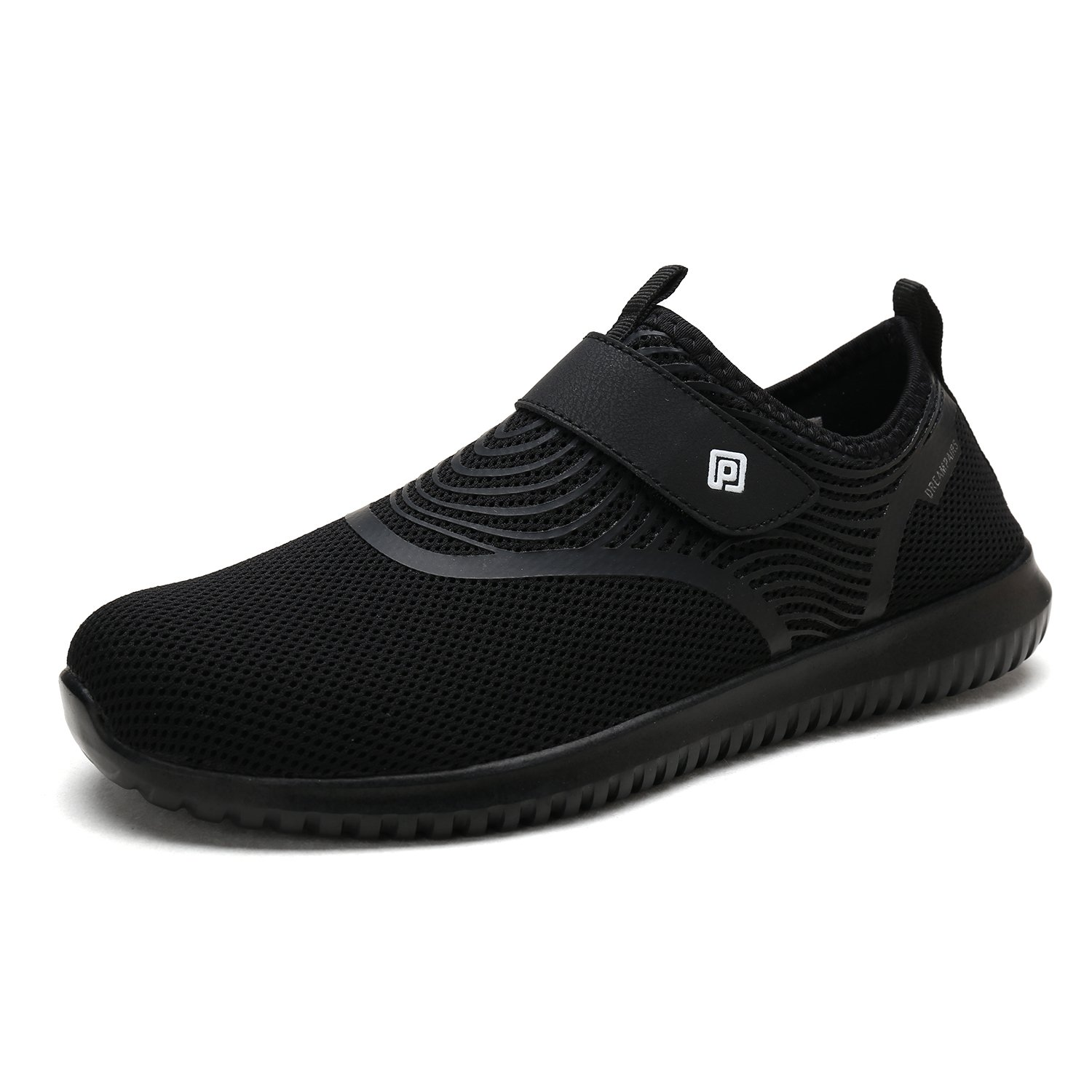 DREAM PAIRS Women's C0210_W Black White Fashion Athletic Water Shoes Sneakers Size 8 M US
