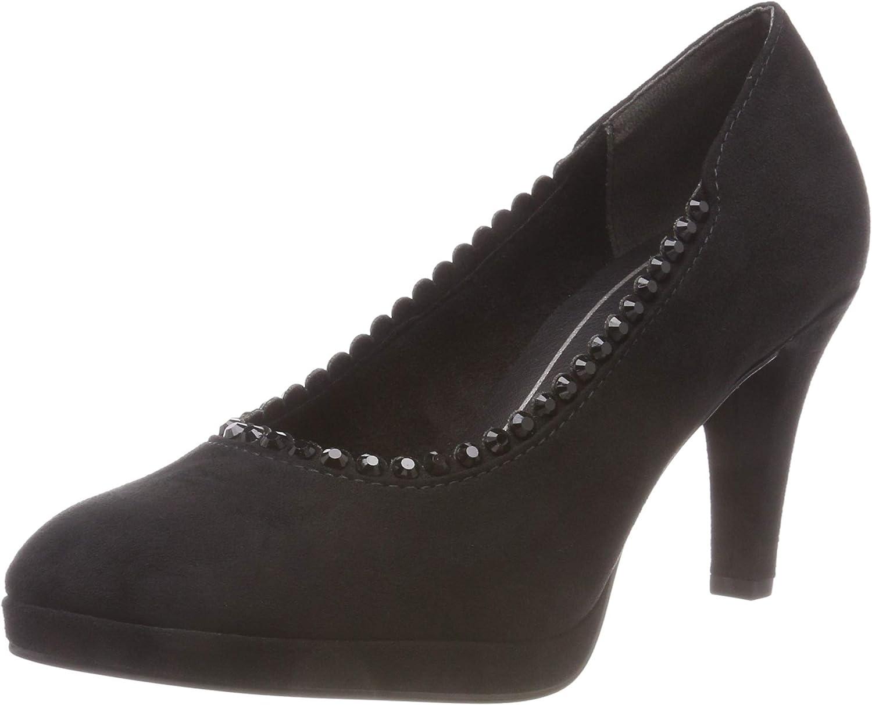 TALLA 38 EU. MARCO TOZZI 2-2-22409-21 001, Zapatos de Tacón para Mujer