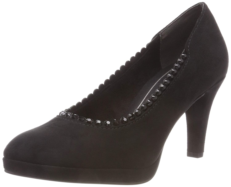 TALLA 37 EU. MARCO TOZZI 2-2-22409-21 001, Zapatos de Tacón para Mujer