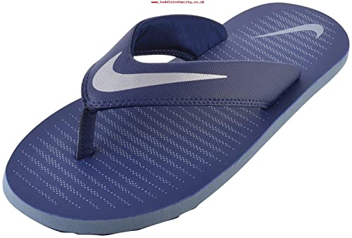 d3a5f1e07ede Nike Men s Navy Blue Flip-Flops - 12 UK  Buy Online at Low Prices in India  - Amazon.in