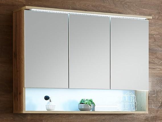 Spiegelschrank Badschrank Hängeschrank Spiegel Badmöbel Wandschrank