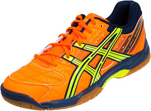 dueña caja de cartón arco  Asics Gel-Squad Handball Shoes Neon Orange / Lime: Amazon.co.uk: Shoes &  Bags