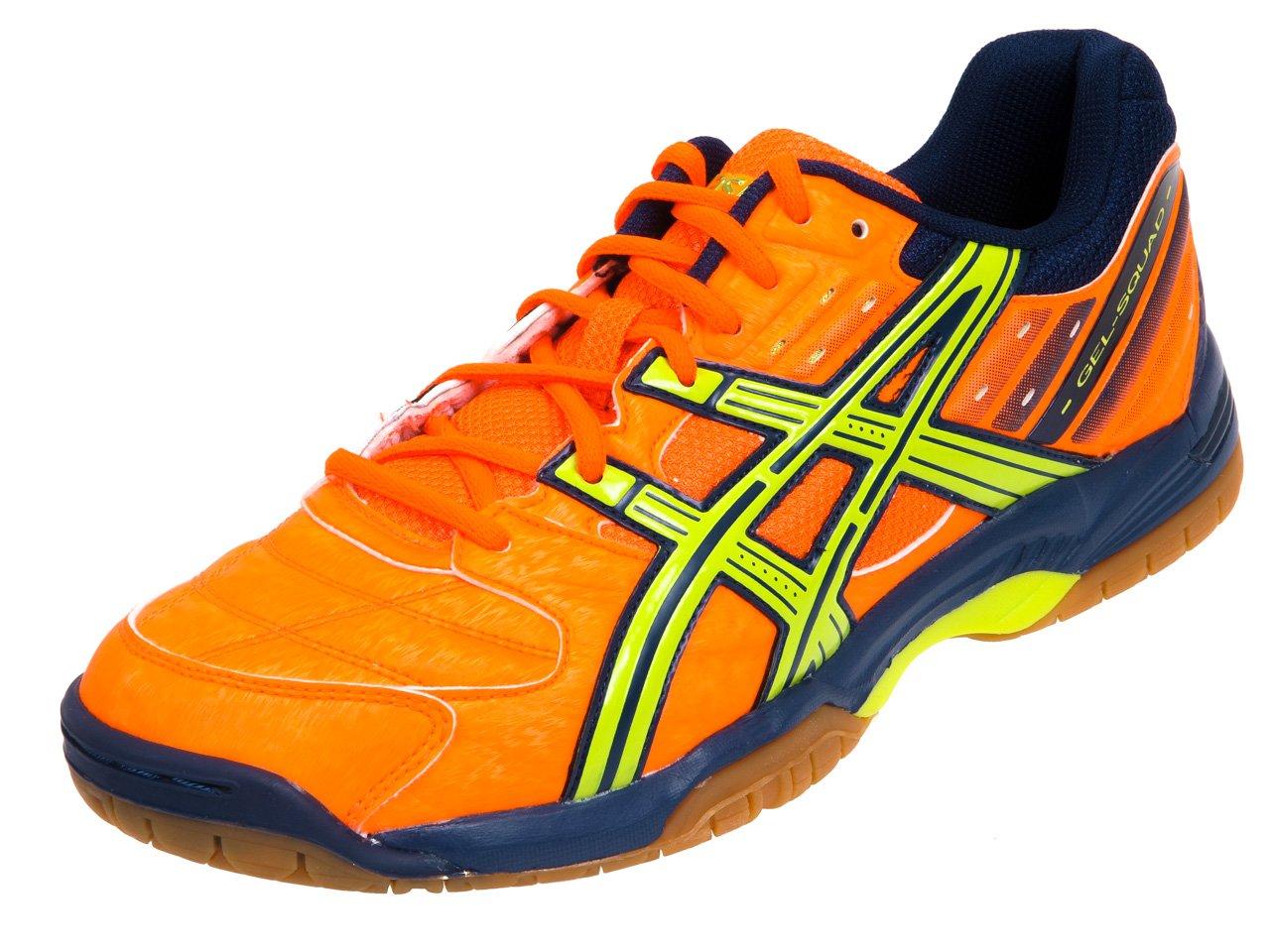 Asics Gel Squad - Zapatillas de balonmano para Neon Naranja/lime ...