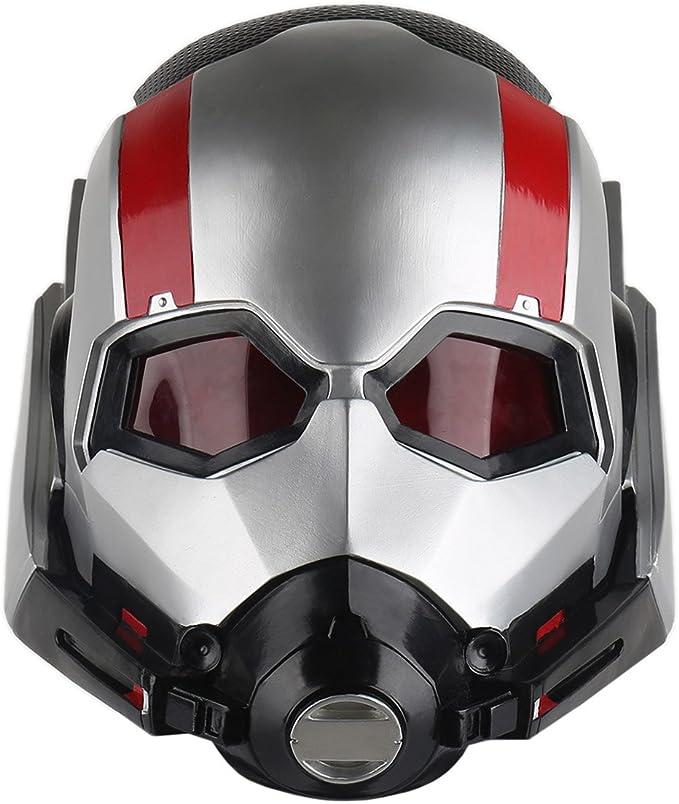 yacn Ant Man Mask Costume Adult Cosplay, Disfraz de Antman Scott ...