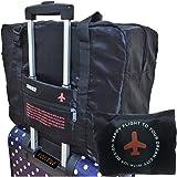 【POSITIVE】 折りたたみ ボストンバッグ 収納ポーチ付 大容量32L 機内持込可 スーツケース固定可 保証書付