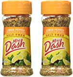 Mrs. Dash Lemon Pepper Salt Free Seasoning Blend 2.5 oz - Pack of 2