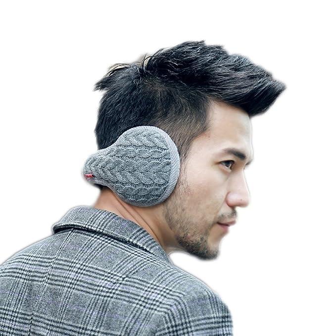 91934d05df694b PanPan Amore 耳当て 耳カバー イヤーマフ ニット 冬 バック装着 折りたたみ 携帯便利 イヤーウォーマー