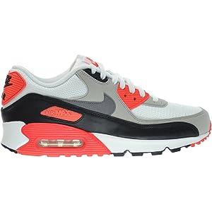 ea90dd5d97e420 Nike Air Max 90 OG Men s Running Shoes White Cool Grey-Natural Grey-