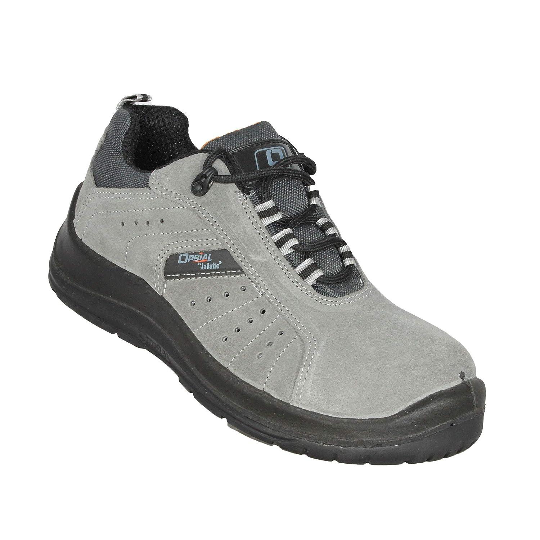 Opsial Paso Zapatos de Registro S1P SRC de Seguridad Que emigran los Zapatos Plana Gris B-Ware