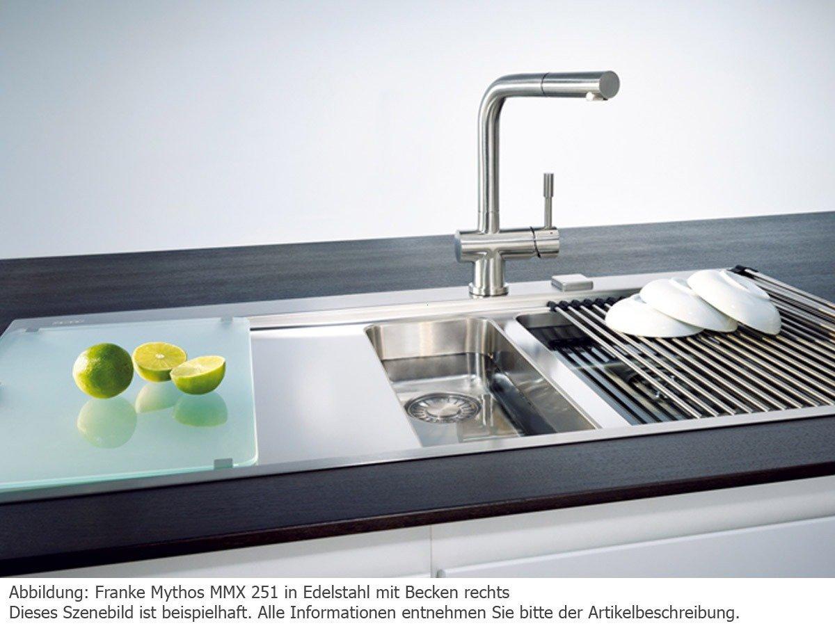 Einbauspüle Franke Mythos MMX 251 links Edelstahl: Amazon.de: Küche ...