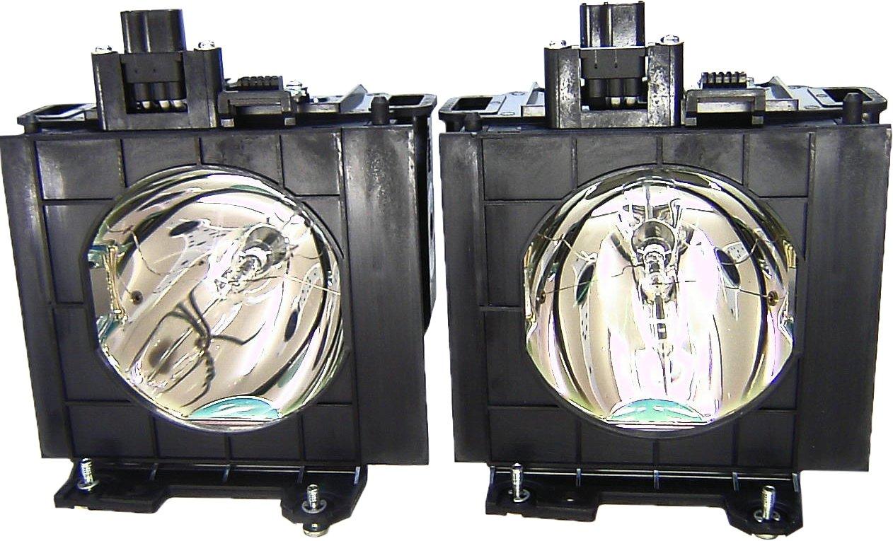 V7 ET-LAD57W Original Bulb Inside Replacement Lamp with Housing for PANASONIC Projectors PANASONIC PT-D5100, PT-D5700, PT-D5700E, PT-D5700L, PT-DW5100L