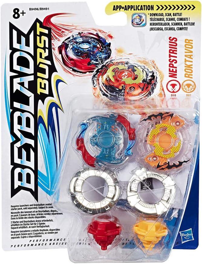 Beyblade Burst Dual Pack b9491eu4: Amazon.es: Hogar