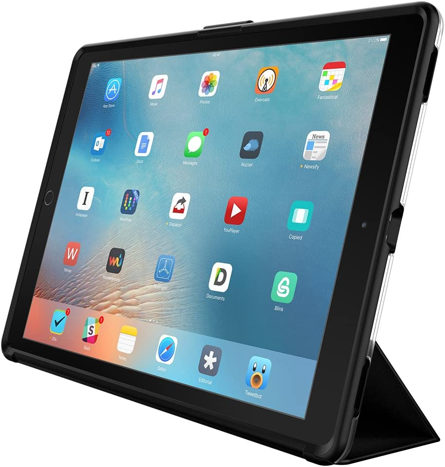 """OtterBox SYMMETRY HYBRID SERIES Case for iPad Pro 12.9"""" 1st Generation (ONLY) - Retail Packaging - STARRY NIGHT (CLEAR/BLACK/DARK GREY)"""