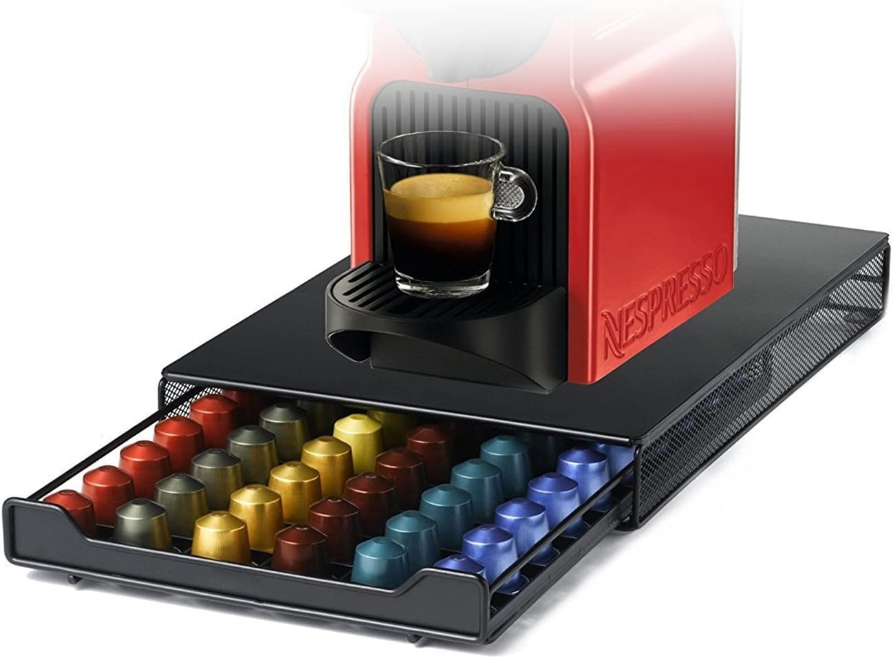 Cajón de Café Cápsulas para Nespresso,HiveNets Soporte de ...
