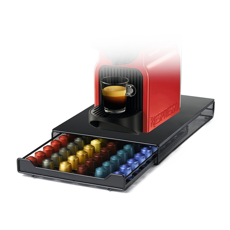 Tavolaswiss DISPENSER capsula//capsula supporto CASSETTO 60 per 60 Nespresso Capsule