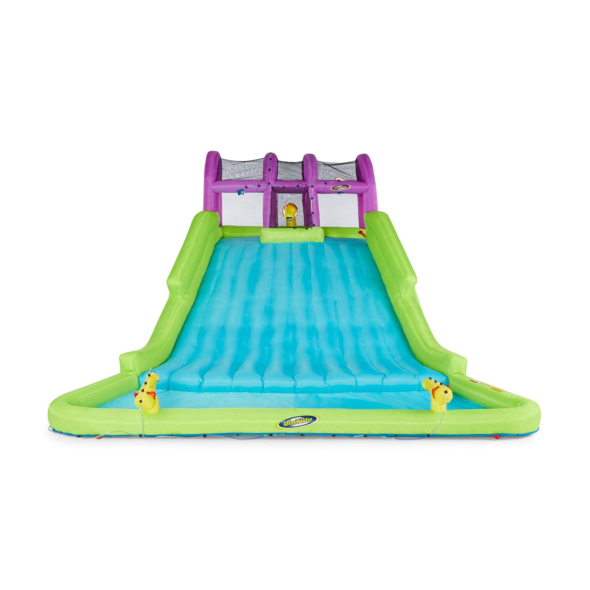 Kahuna Mega Blast Inflatable Backyard Kiddie Pool and Slide Water Park by Kahuna (Image #4)